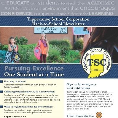 Back To School Newsletter Arrives News Post Dayton Elementary School